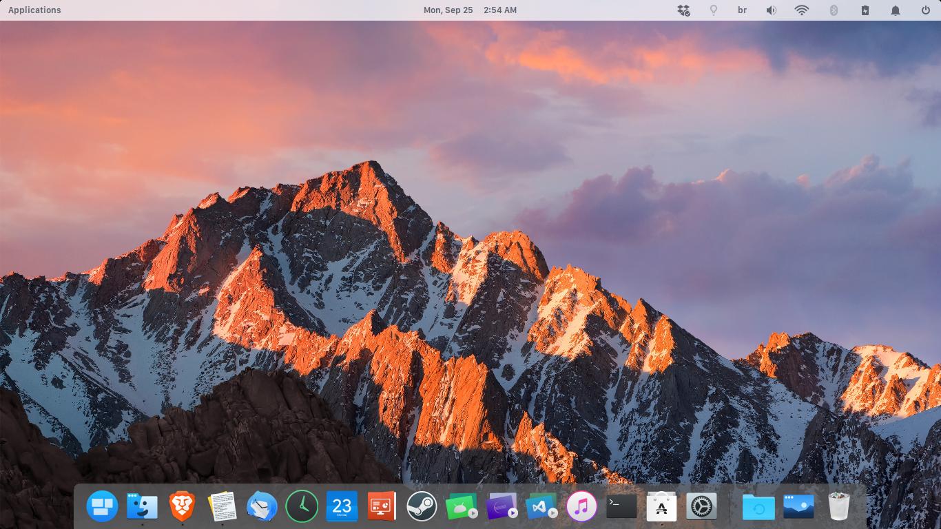 GitHub - btd1337/Cairo-Dock-macOS-Sierra-Style: A theme for