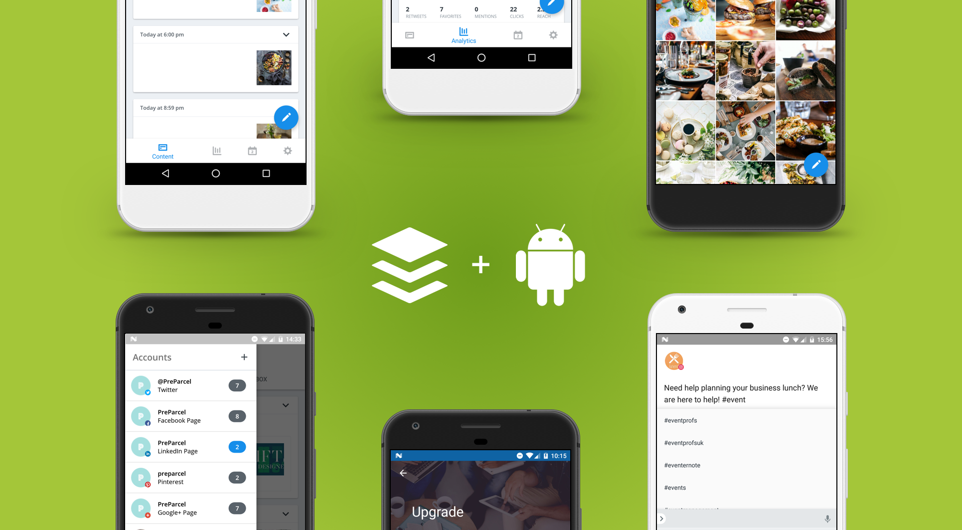Buffer Android Header