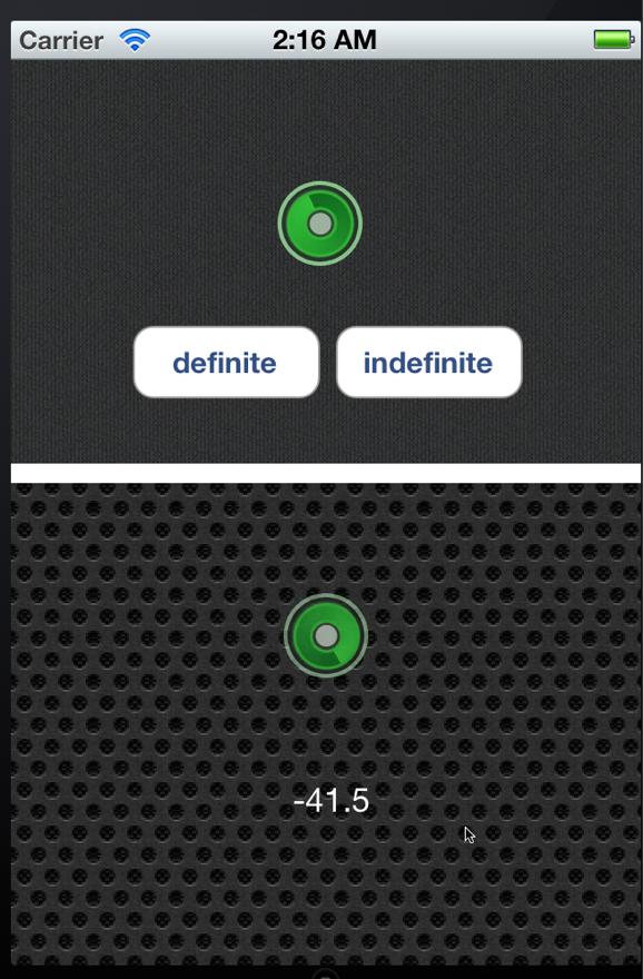 Screenshot: Launch image