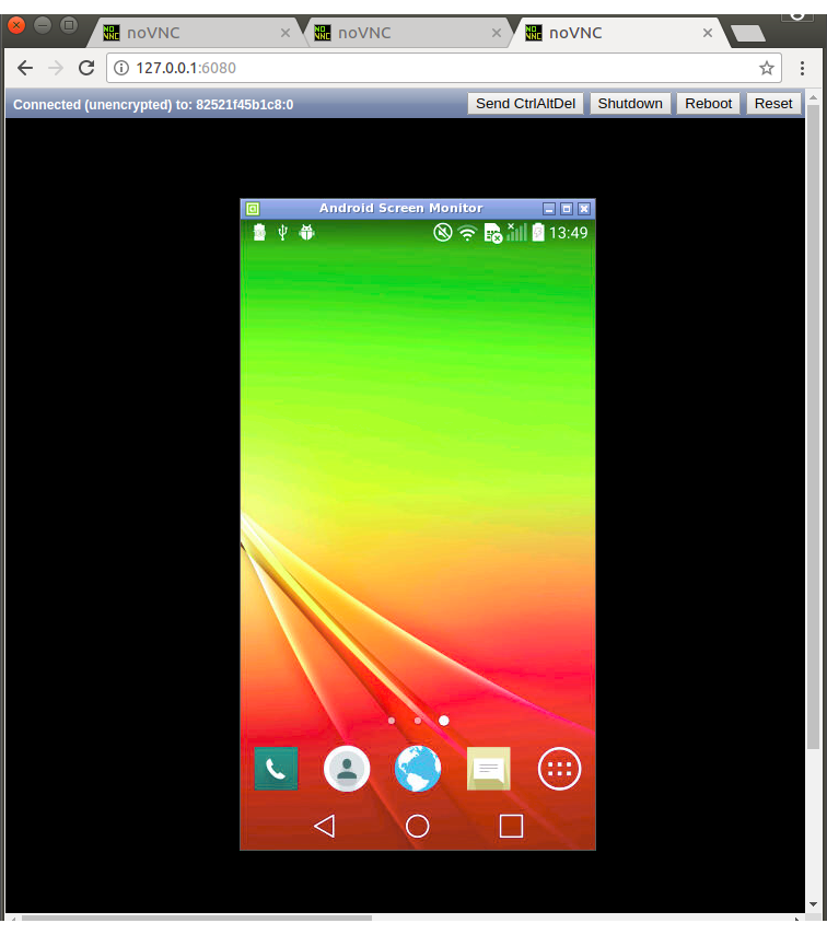 docker-android Android in docker solution with @codeKK pythonOpen
