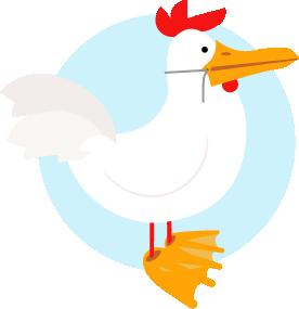 MockDuck Mascot