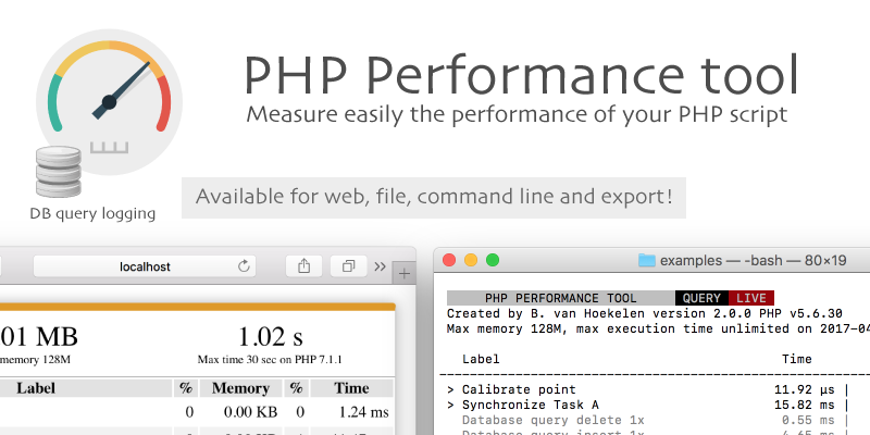 PHP performance tool