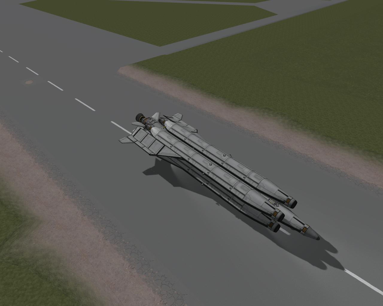 Экспериментальный многоразовый танкер Bluebird  Mk.1