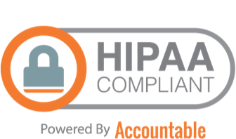 hipaa accountable badge