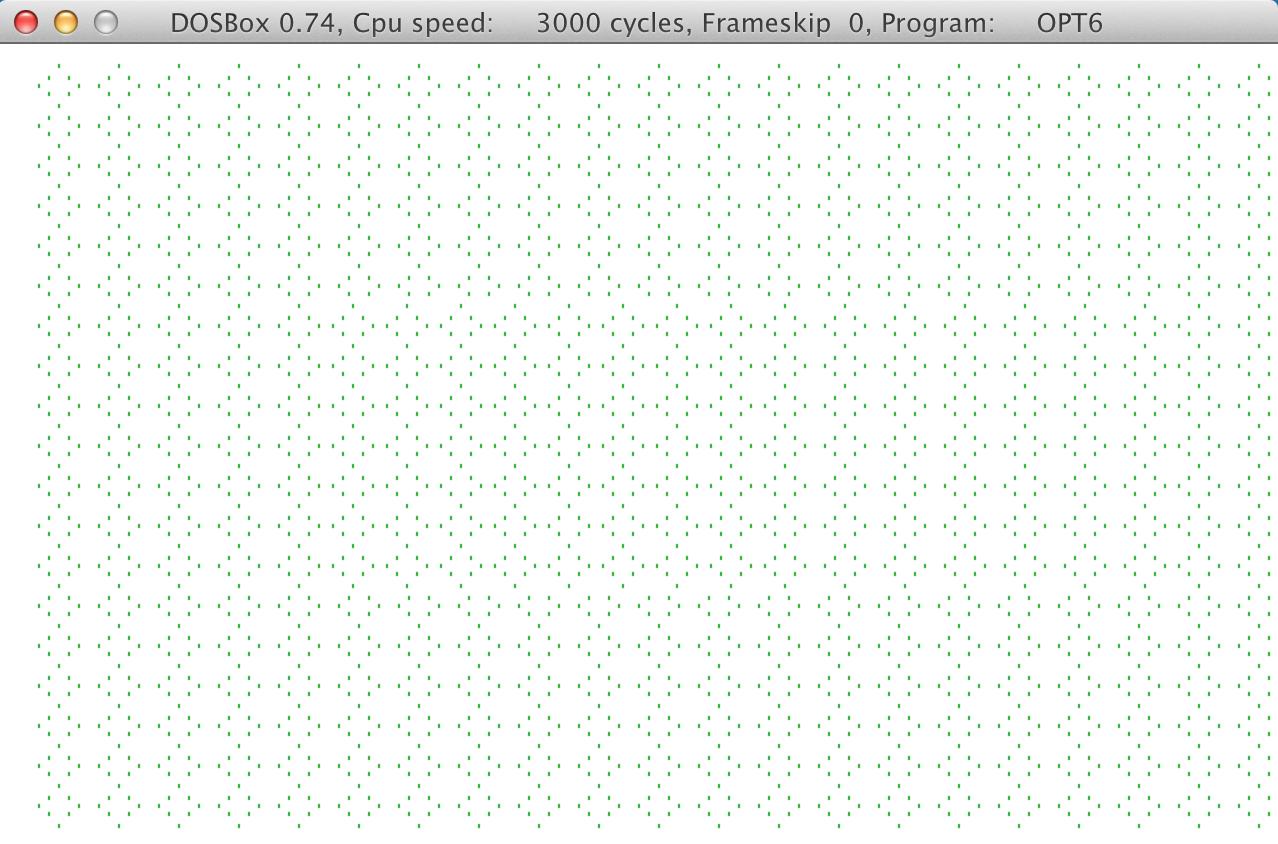 opt6 program screenshot