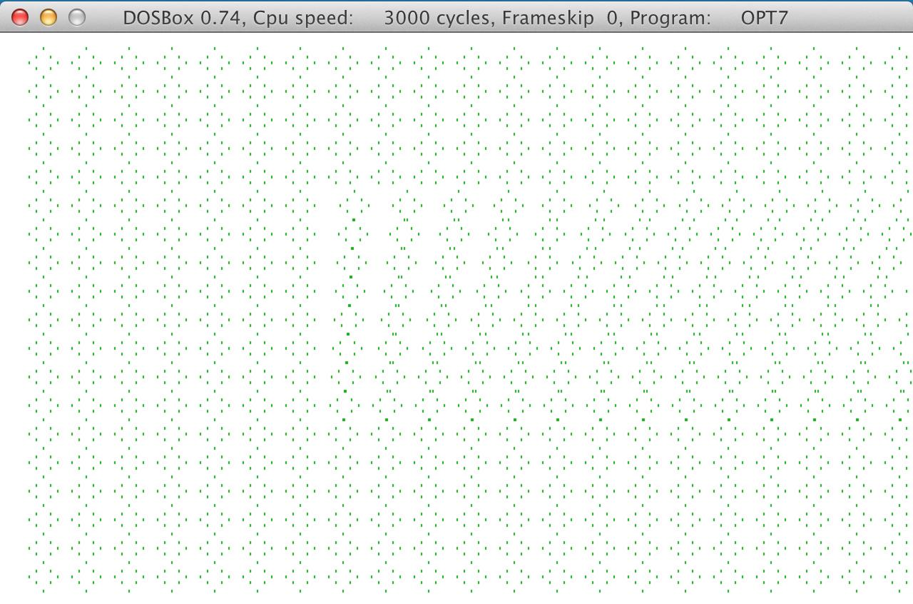 opt7 program screenshot