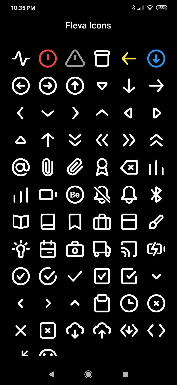 Fleva Icons
