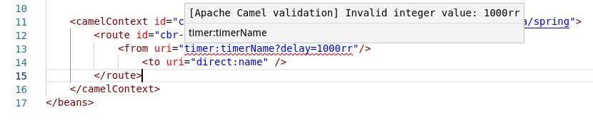 Diagnostic for XML DSL