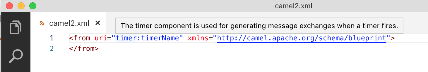 Quick reference for XML DSL