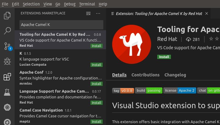 Extension Marketplace - Tooling for Apache Camel K