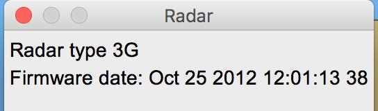 Radar Info Type
