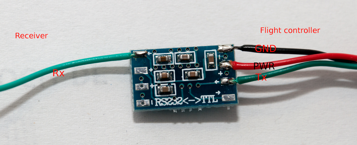 rs232 to ttl converter wiring