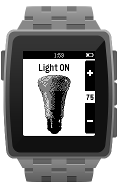 QuickHue for Pebble screenshot 1