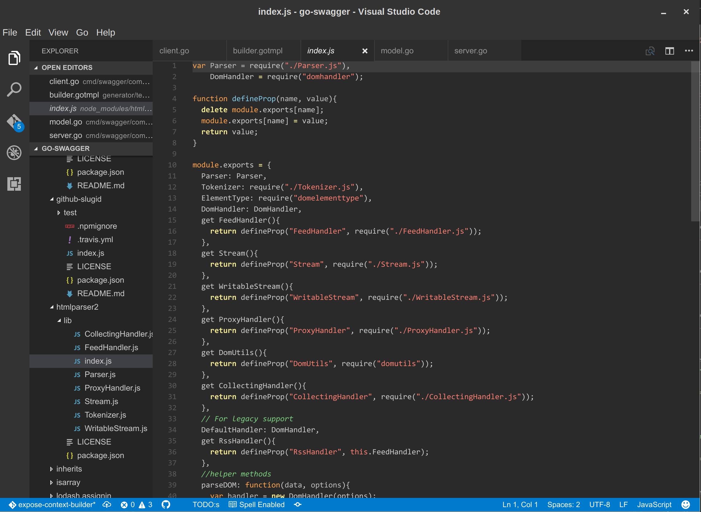 JavaScript syntax