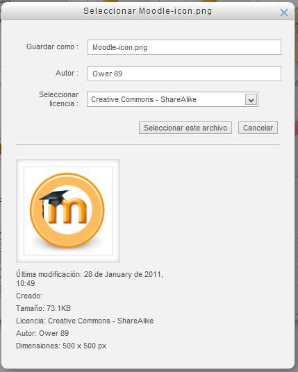 Fig Captura de pantalla. Incorporación desde otro repositorio
