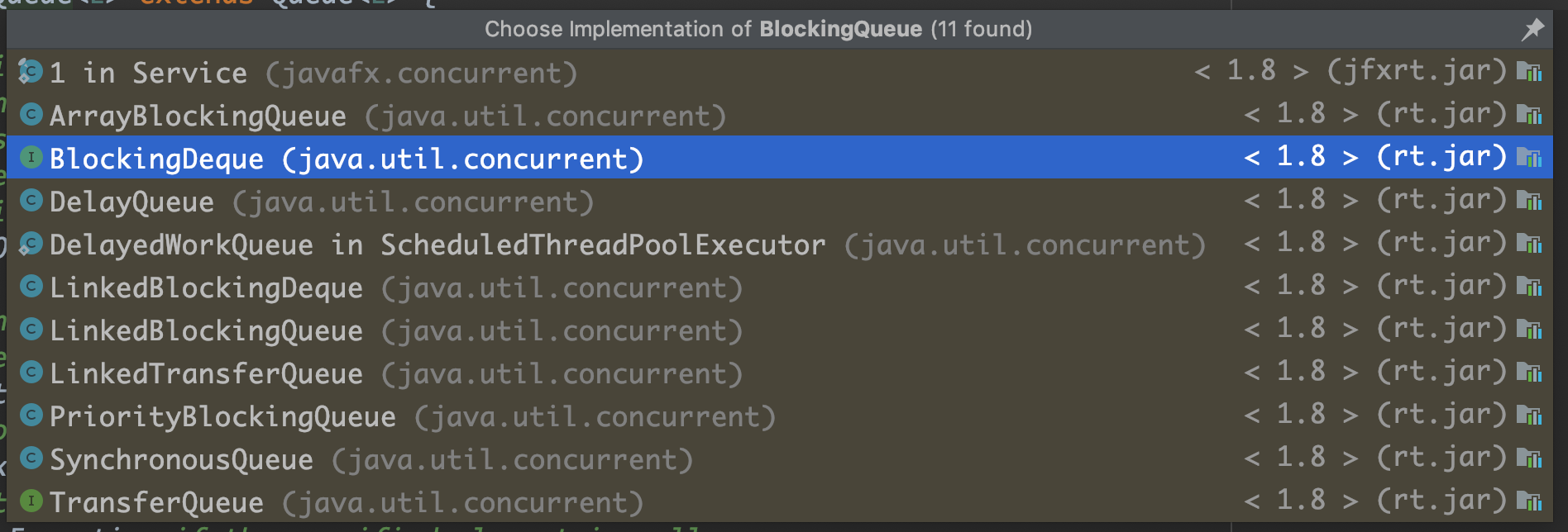 BlockingQueue Implementations