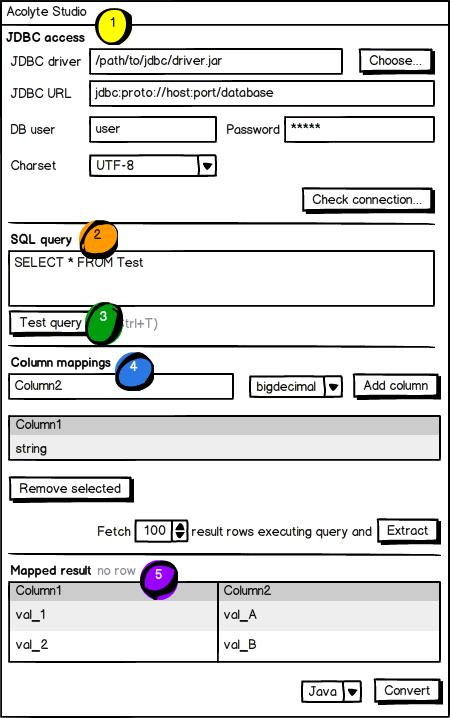 Acolyte Studio GUI