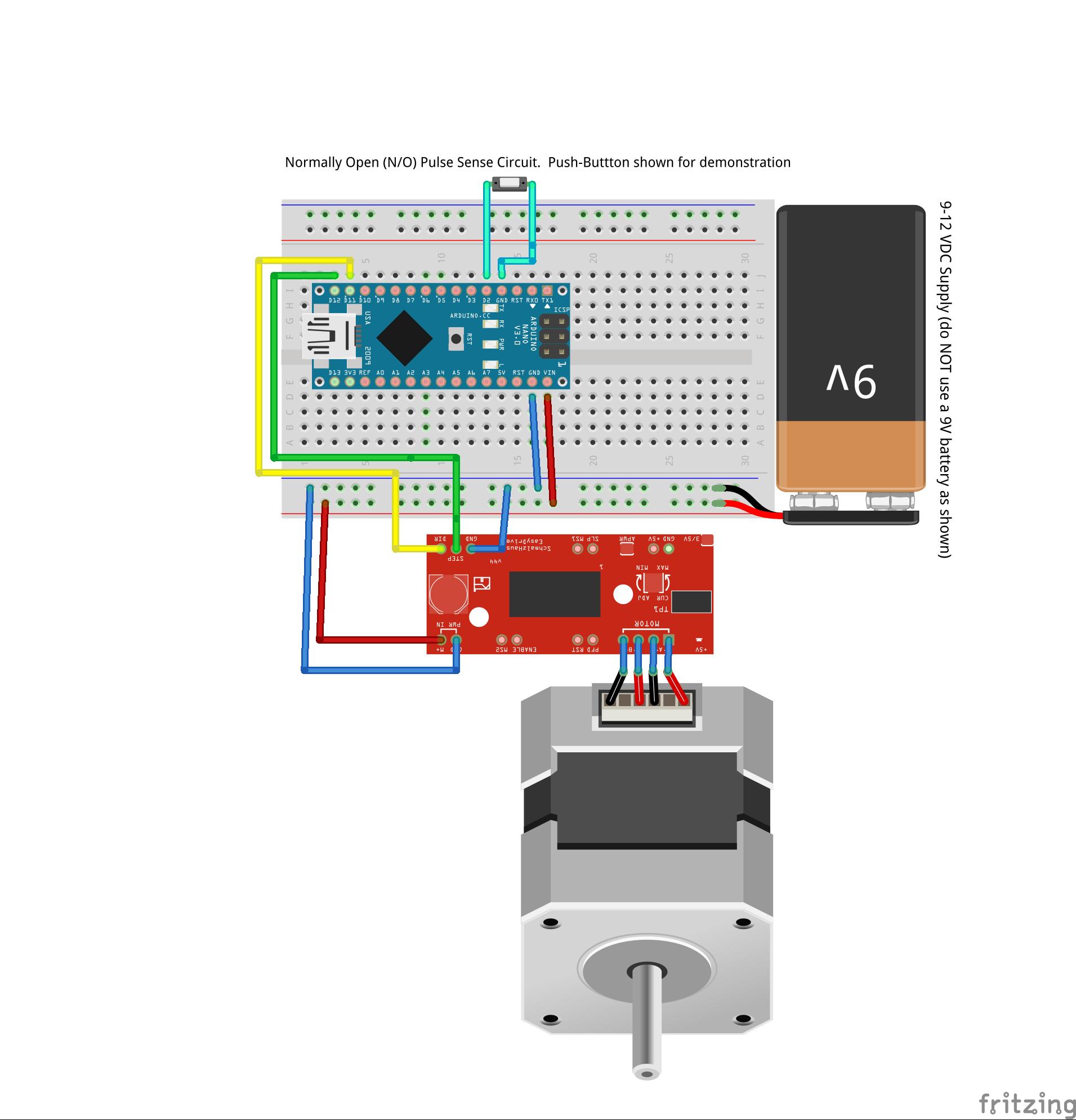 Arduino stepper speedometer at master cdaringe for Stepper motor vs servo