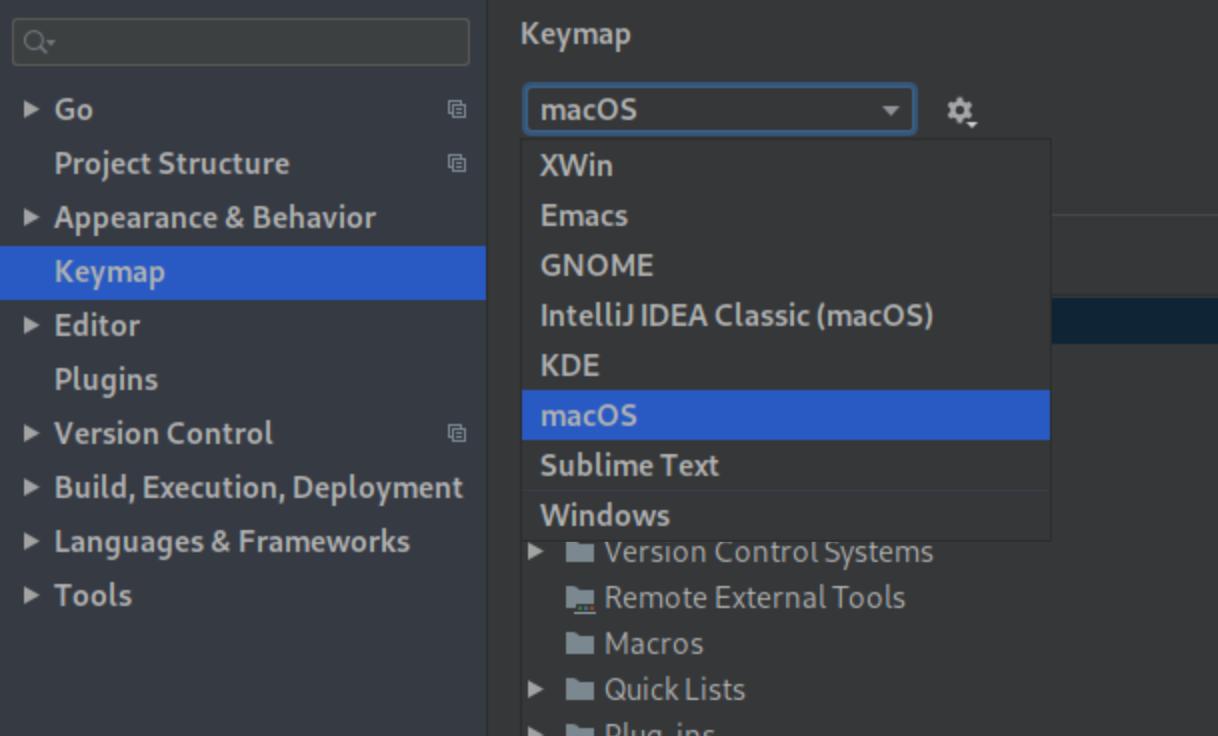 Configuring macOS keybindings