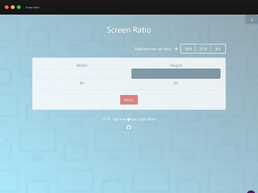 Capture d'écran de ScreenRatio