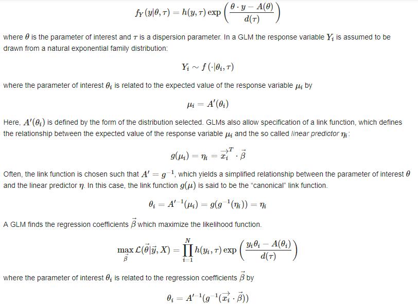 广义线性模型