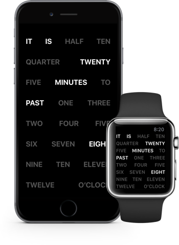 Natural Language Clock image 1