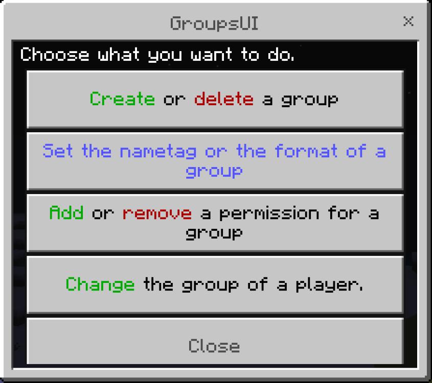 GroupsUI