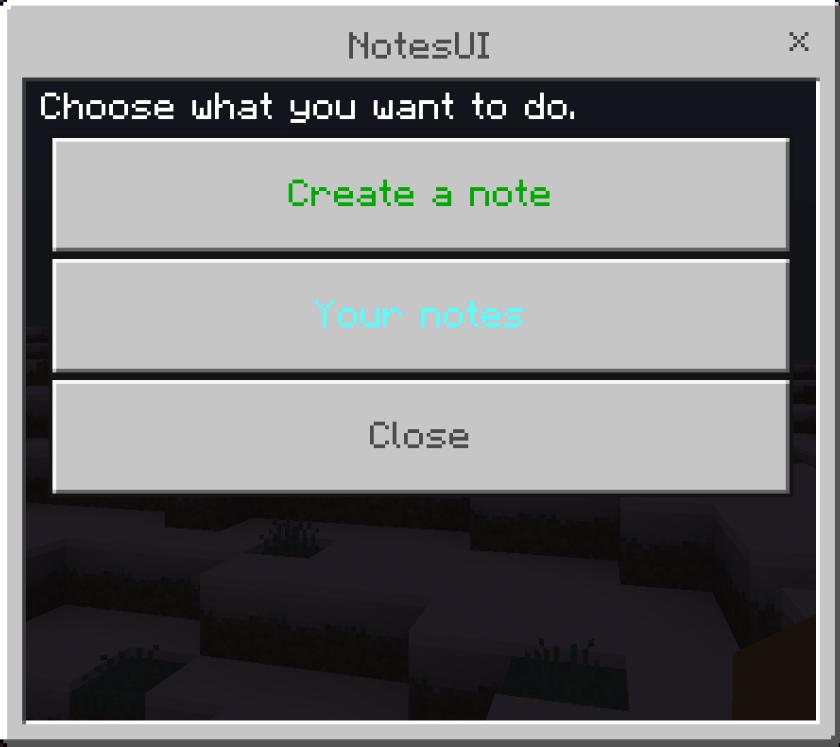 NotesUI