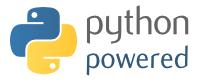 Python Powered logo