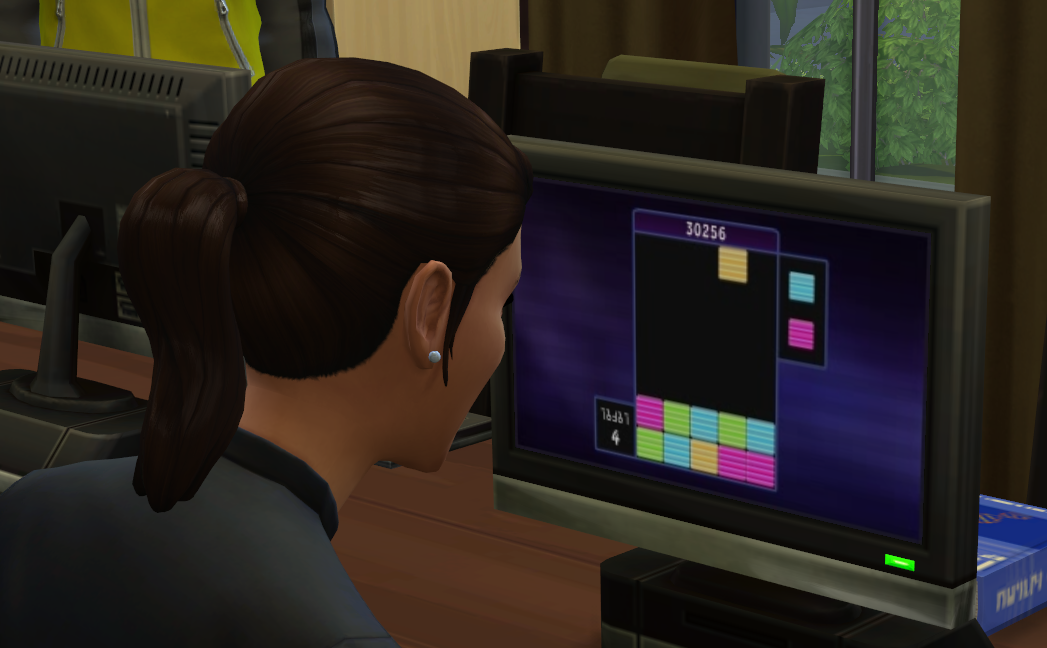 The Sims 4 Blicblock play
