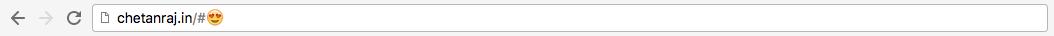 emoji in url screen