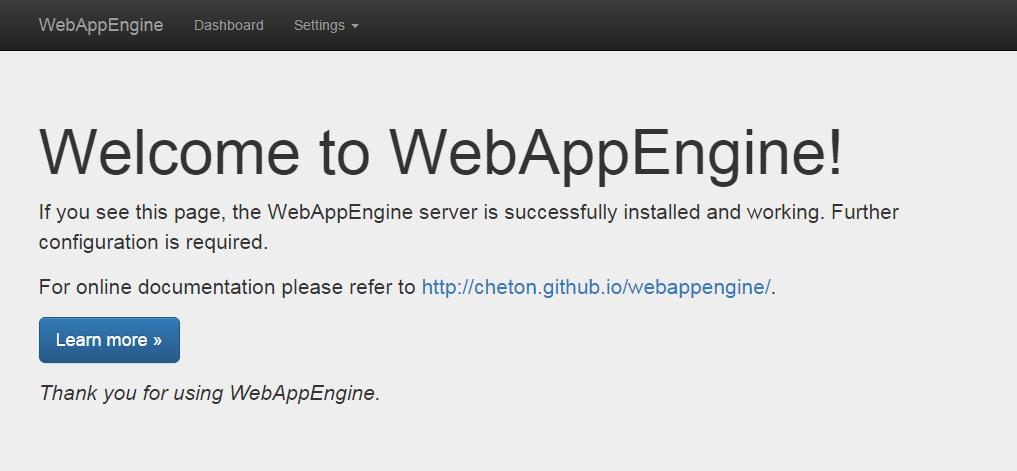 WebAppEngine