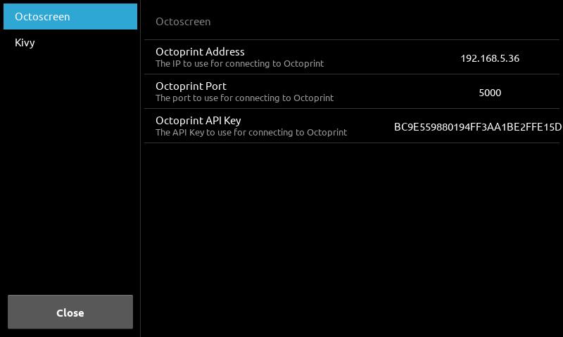 GitHub - timothyhollabaugh/octoscreen: A touchscreen client