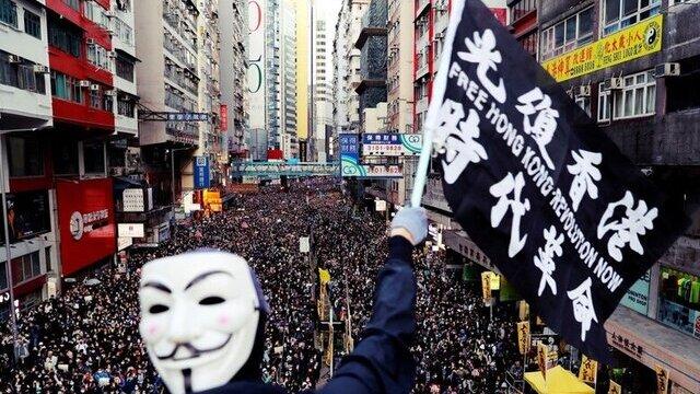 """香港""""反送中""""抗争"""