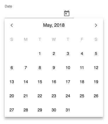 Image of Material UI DatePicker