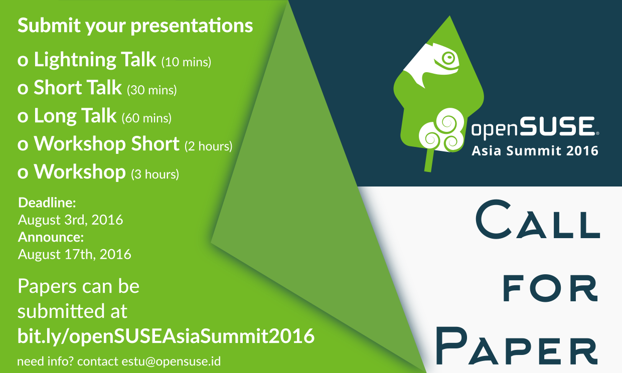https://raw.githubusercontent.com/cho2/openSUSE-Asia-Summit-2016-artwork/master/poster/CETAK%20%26%20Rilis/CFP.png