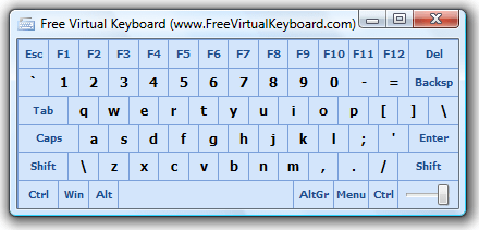 Chocolatey Gallery | Free Virtual Keyboard 4 2