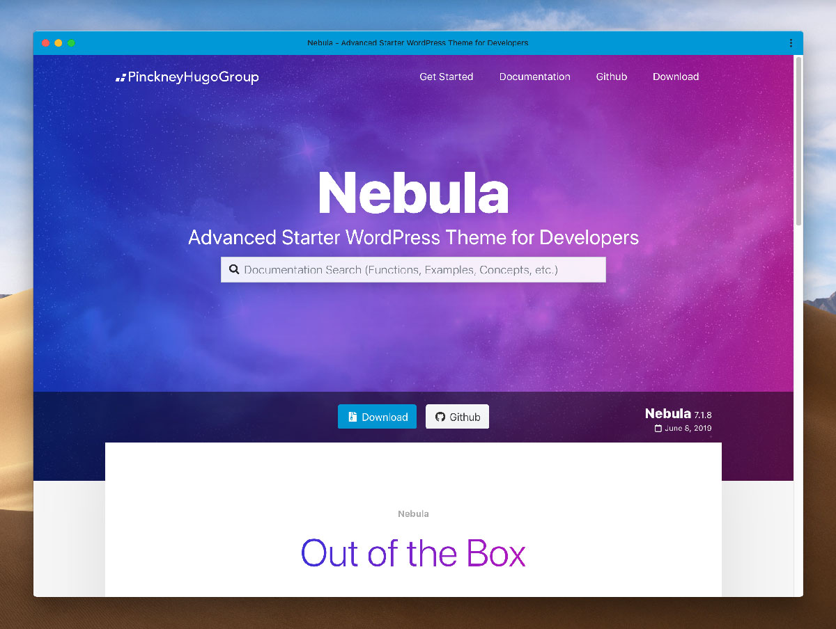 Nebula screenshot