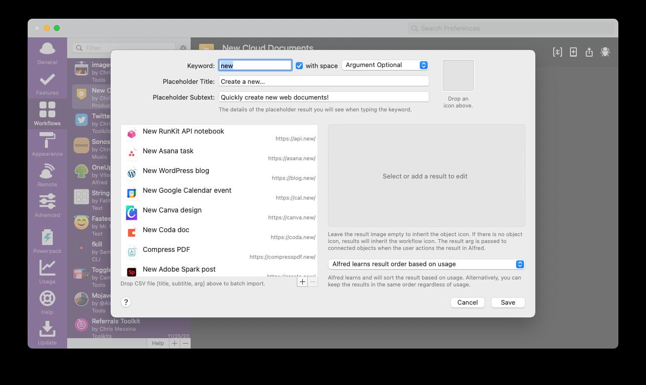 Workflow UI