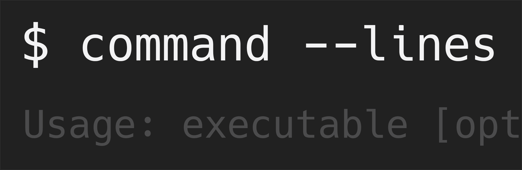 commandlines
