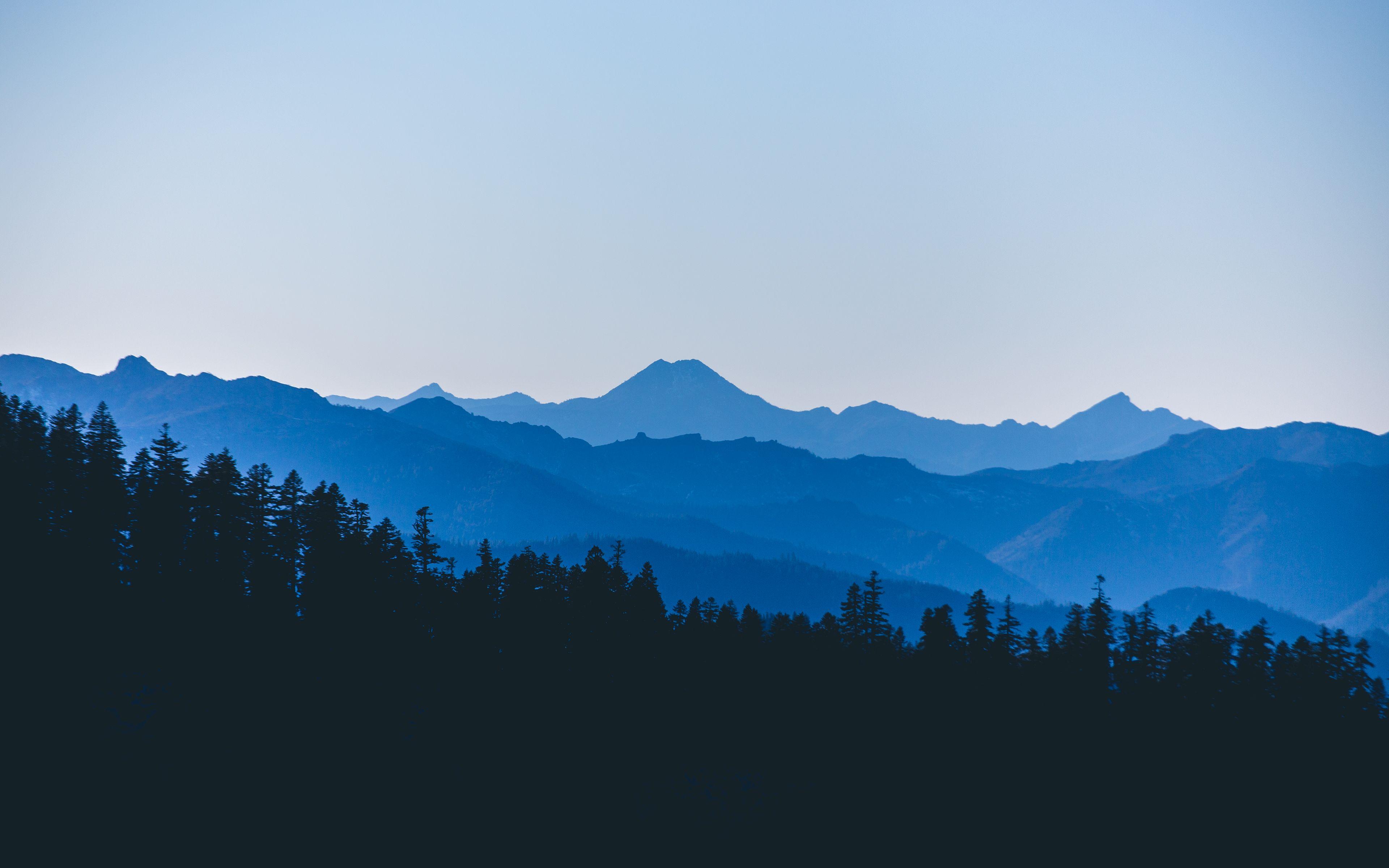 Relaxing HD Wallpapers - Minimal Nature Panorama