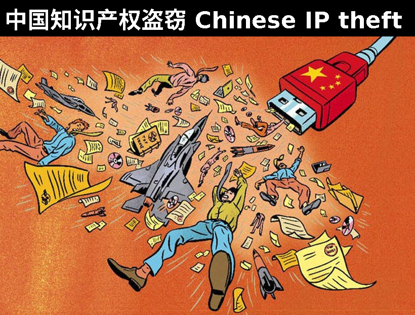 China USB theft