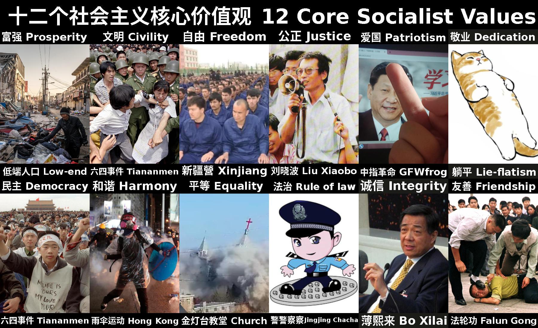 Core socialist values
