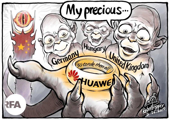 Huawei 5G my precious