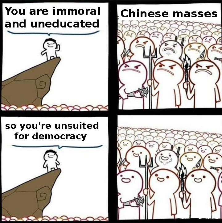 Immoral and uneducated en