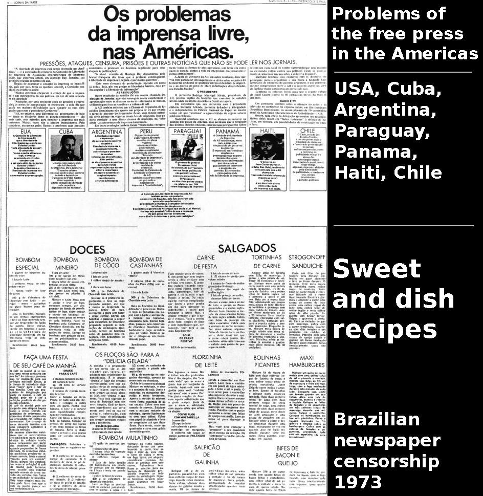 Os problemas da imprensa livre