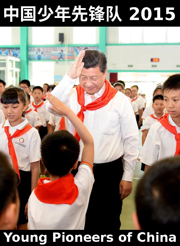 Xi scout salute