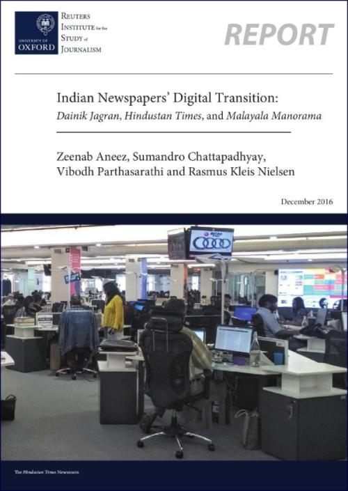 CIS-RISJ - Indian Newspapers' Digital Transition