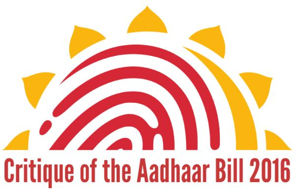 Critique of the Aadhaar Bill 2016