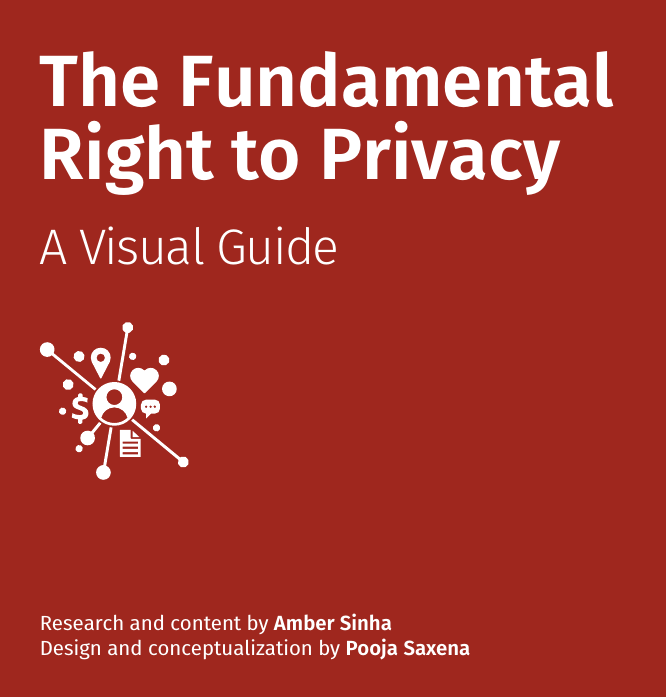 Amber Sinha and Pooja Saxena - The Fundamental Right to Privacy - A Visual Guide